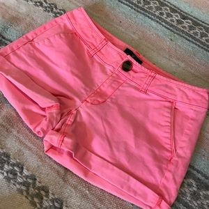 American Eagle pink shorts